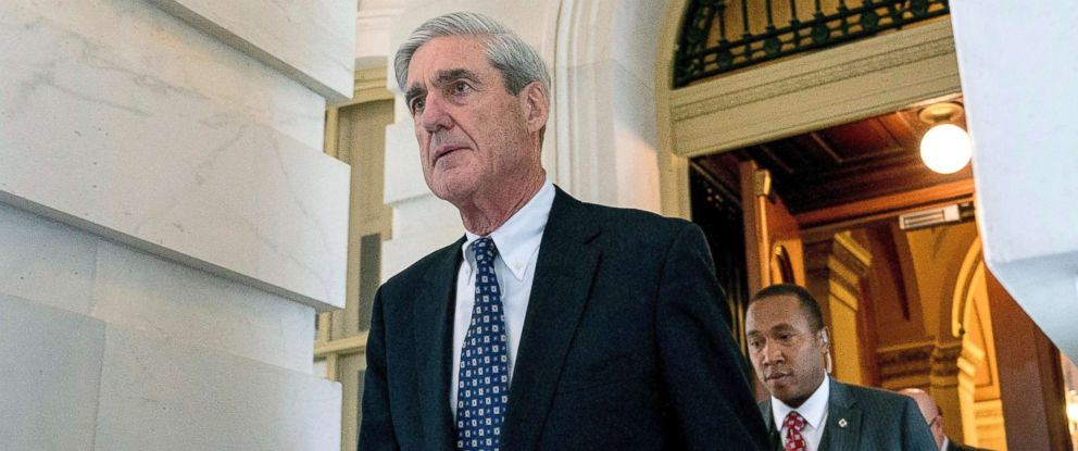 PHOTO: Robert Mueller, the special counsel probing Russian interference in the 2016 election, departs Capitol Hill on June 21, 2017.