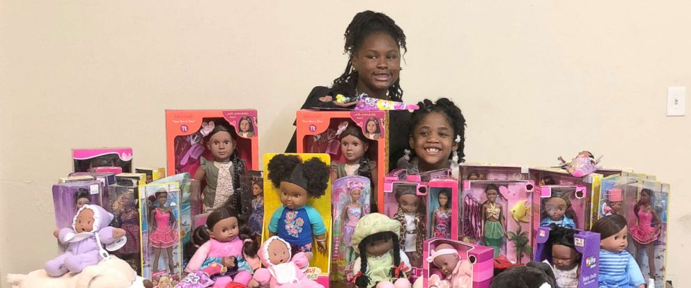 """PHOTO: Zoe Terry, 11, launched the nonprofit """"Zoes Dolls"""" in 2011 which gives out dolls of color to young girls whose families may not otherwise be able to afford them."""