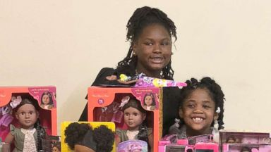 'PHOTO: Zoe Terry, 11, launched the nonprofit' from the web at 'https://s.abcnews.com/images/US/doll-giveaway-1-ht-mem-180216_16x9t_384.jpg'