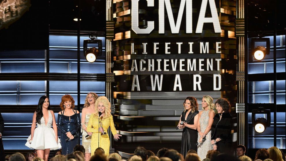 Luke Bryan, Carrie Underwood, others on life lessons learned from Dolly Parton - GMA