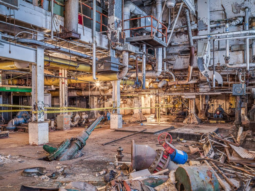 PHOTO: The pump house which was damaged by Hurricane Sandy.