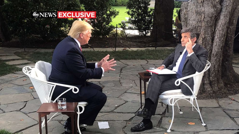 ABC News travels with President Donald Trump from Iowa to the White House thumbnail