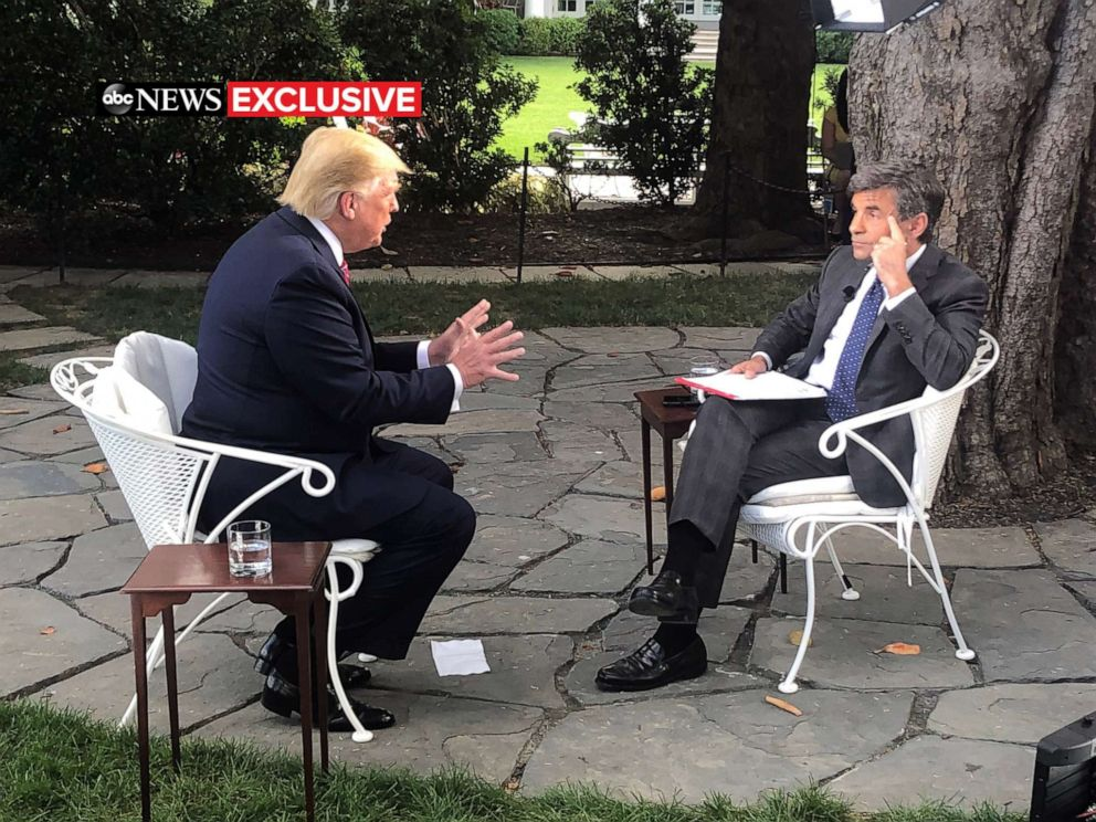 I think I'd take it': In exclusive interview, Trump says he would