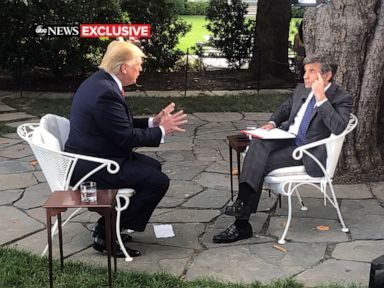 ABC News travels with President Donald Trump from Iowa to the White House