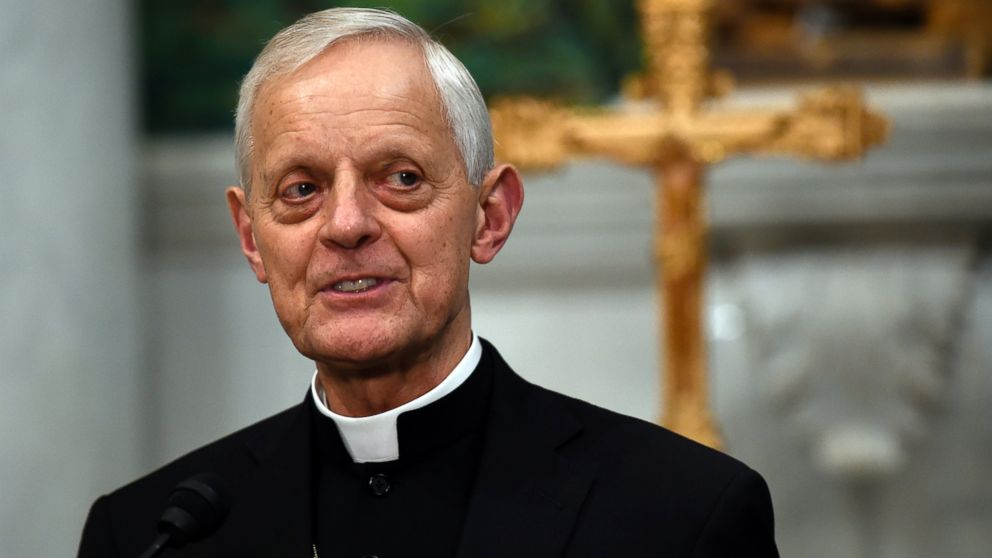 In this June 30, 2015, file photo Cardinal Donald Wuerl, archbishop of Washington, speaks during a news conference at the Cathedral of St. Matthew the Apostle in Washington.