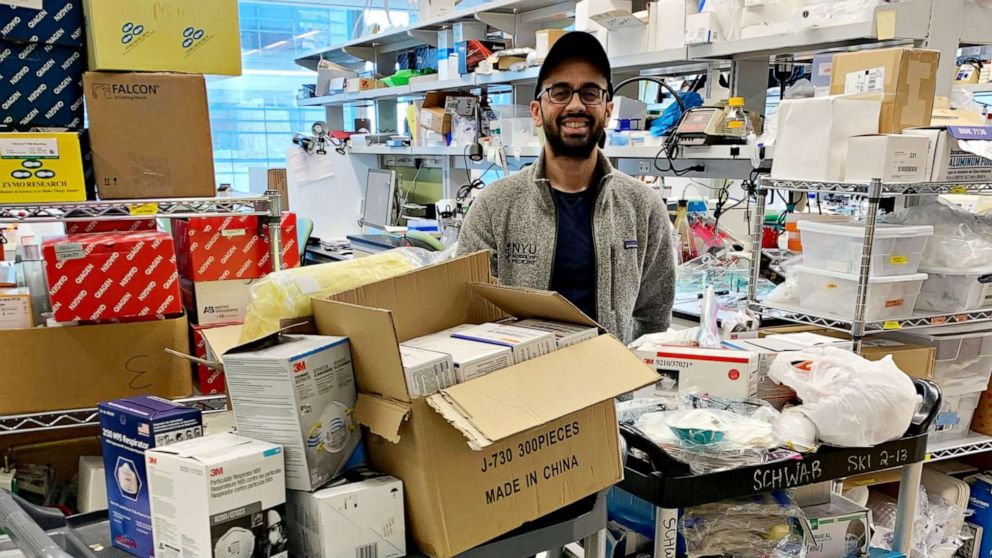 Crowdsourcing dringend benötigte medizinische Versorgung in coronavirus kämpfen