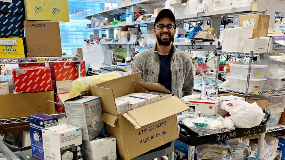 Crowdsourcing απεγνωσμένα ιατρικές προμήθειες σε coronavirus αγώνα
