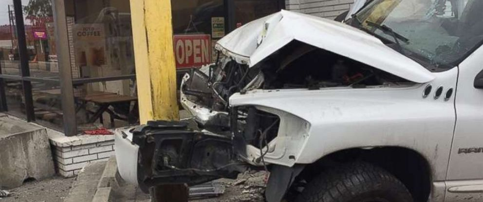 A driver was arrested for DUI on Friday, June 8, 2018, after he slammed into the front of a donut shop in Auburn, Washington.