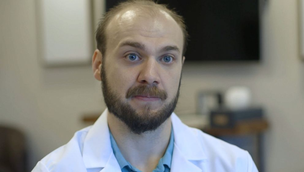 PHOTO: Neonatologist, Dr. Cody Smith, told ABC News that in the last year, more than 10-percent of babies born at his institution were drug-exposed.