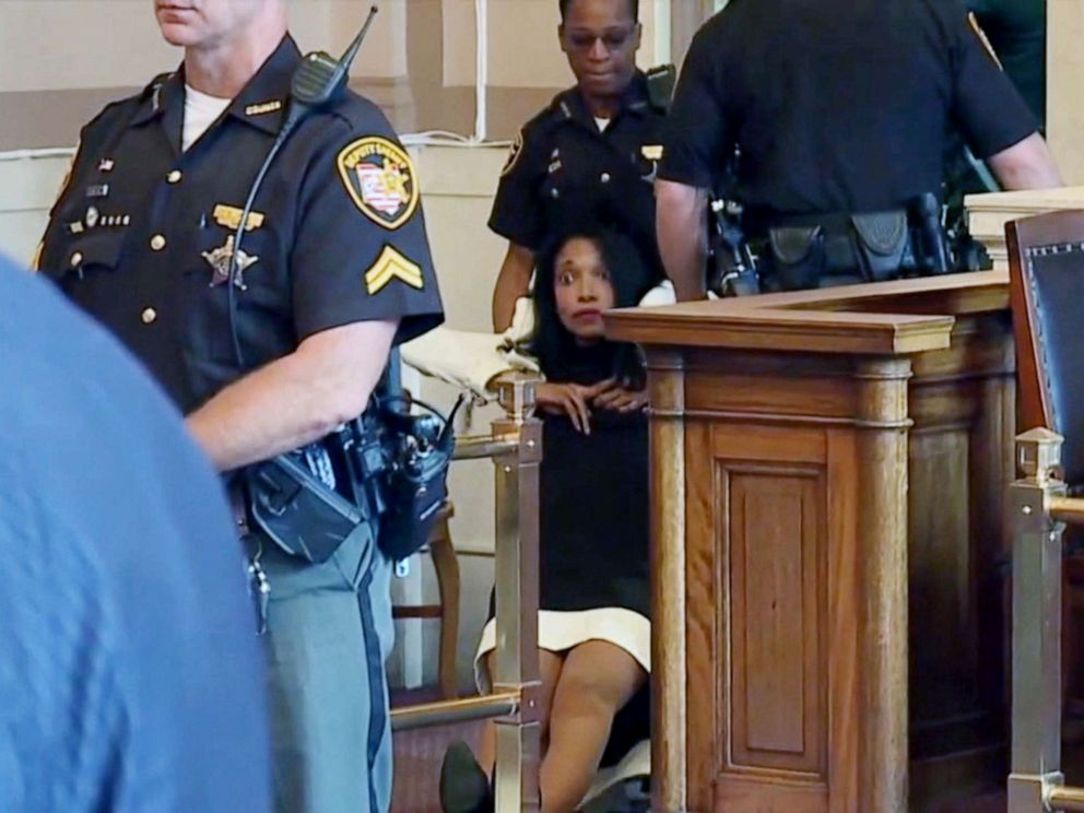 Former Judge Dragged Out Of Courtroom After Being
