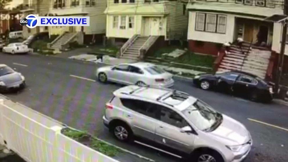 Video shows gunmen spray bullets on New Jersey porch, hitting 15