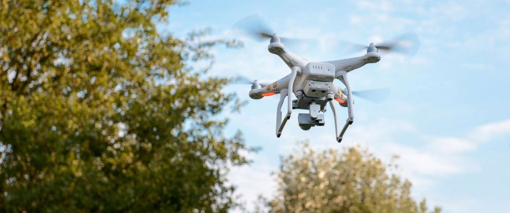 PHOTO: A drones is seen in this stock image.