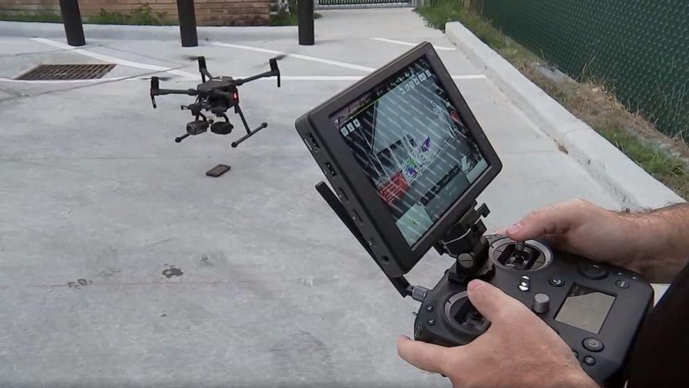 No chopper? No problem, as Texas police use drone to nab burglary suspect