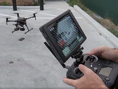 Police use drone to nab burglary suspect