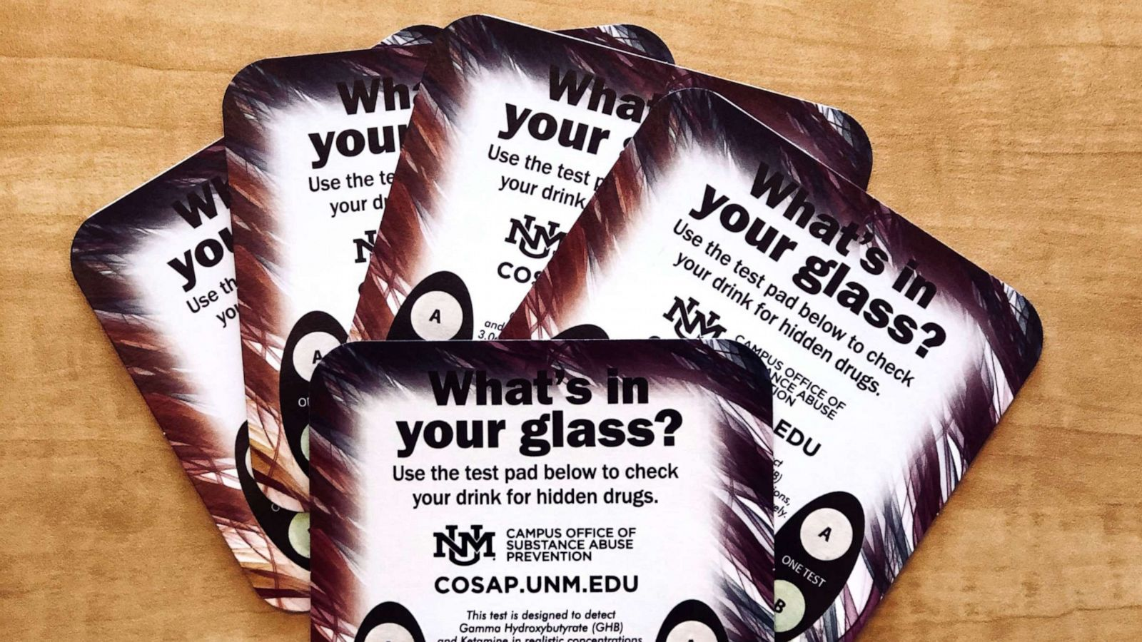 College Hands Out Coasters That Test For Date Rape Drugs Abc News