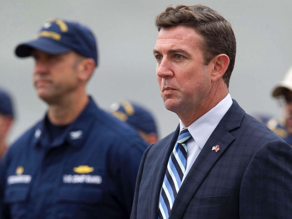 PHOTO: Rep. Duncan Hunter in San Diego in a June 2017 file image.