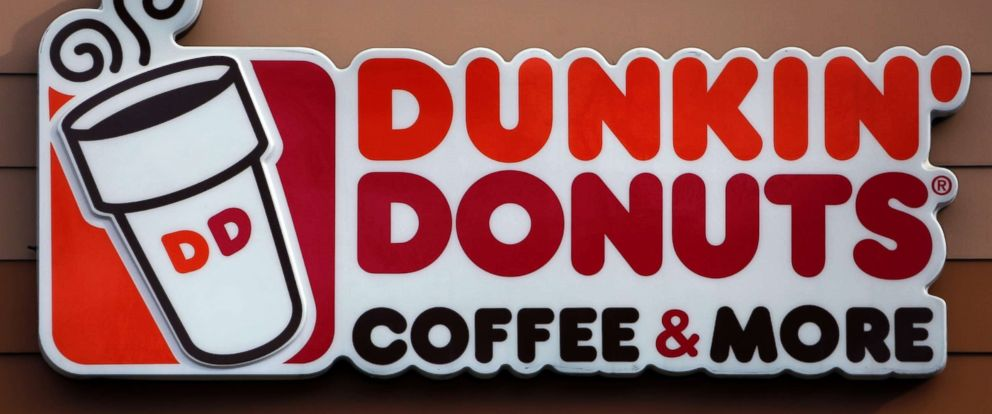 PHOTO: A file photo shows the Dunkin Donuts logo on a shop in Mount Lebanon, Pa., Jan. 22, 2018.