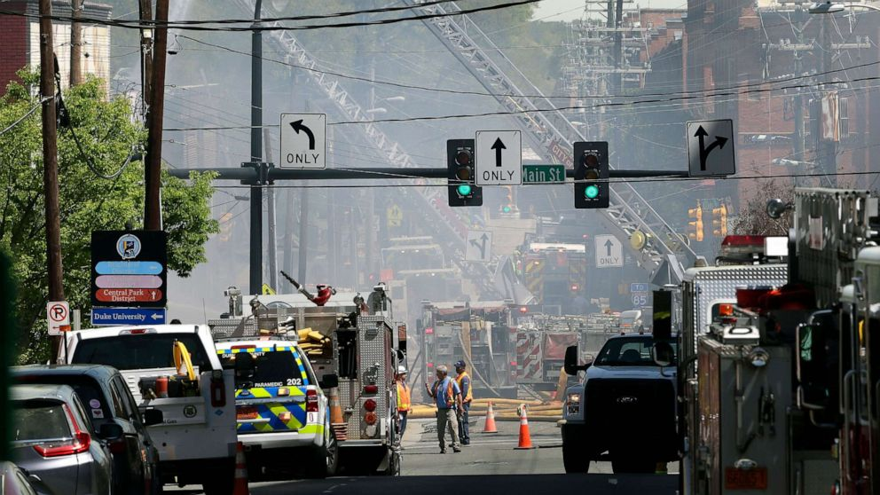 At least one dead and 15 injured in North Carolina gas explosion
