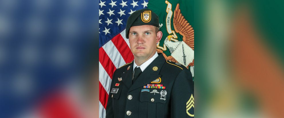 PHOTO: The Pentagon has identified the service member killed yesterday in Afghanistan as Army Green Beret Sgt. 1st Class Dustin B. Ard, 31, of Idaho Falls, Idaho.