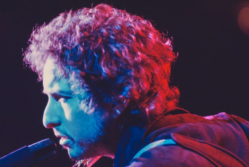 PHOTO: Bob Dylan performing in 1978.