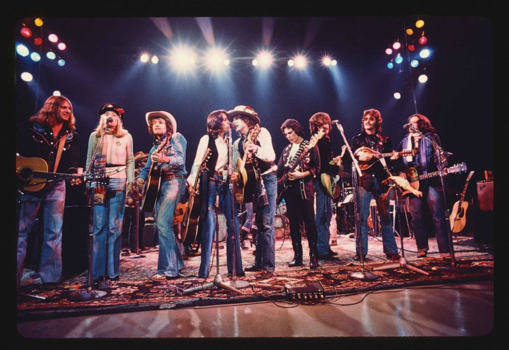 PHOTO: In 1975, Bob Dylan took an all-star cast of musicians, poets, misfits and celebrities on the most unconventional tour of his career.