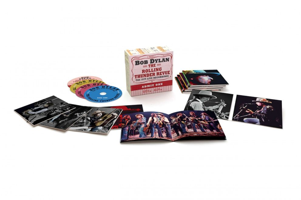 PHOTO: In this undated photo, the Bob Dylan The Rolling Thunder Revue box set is shown.