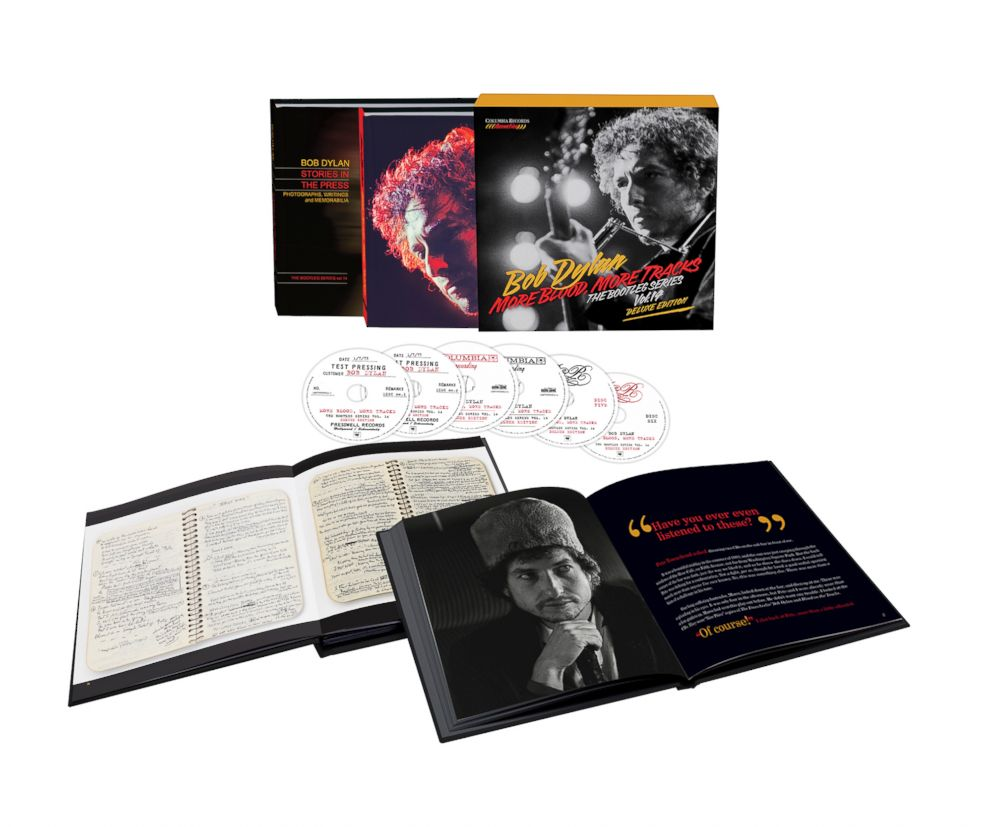PHOTO: The new 'More Blood, More Tracks' six-CD box set.
