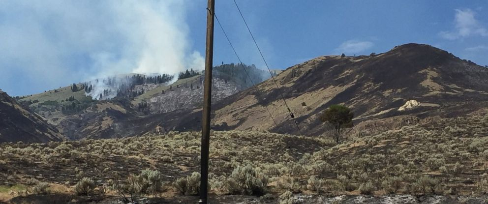 The Eagle fire near Cedarville, Calif., is currently 600 acres and only 20 percent contained.