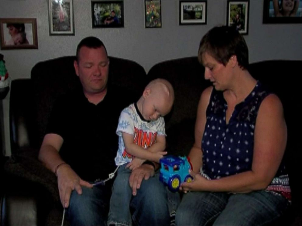 OH  boy with brain cancer gets early Christmas