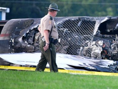 Earnhardt Jr.'s plane bounced at least twice before 'coming down hard'