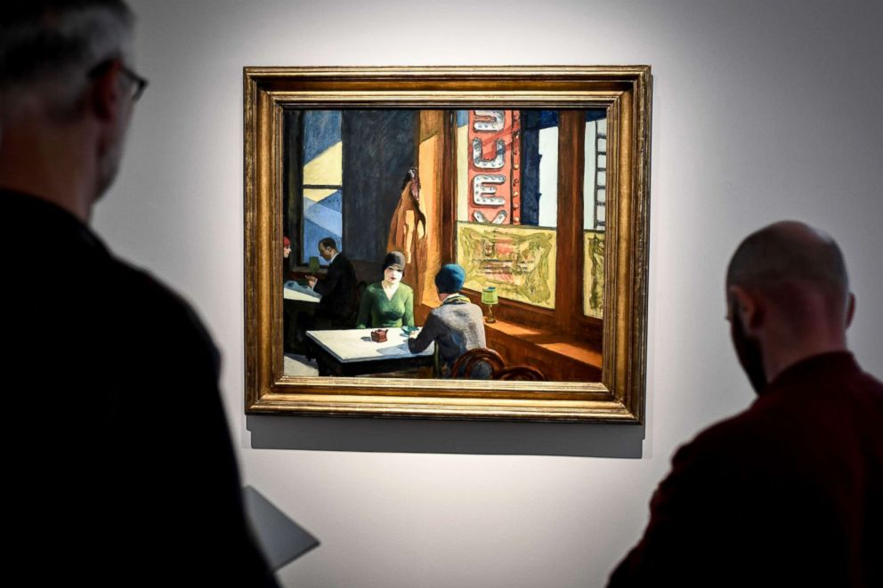 PHOTO: The painting Chop Suey by artist Edward Hopper.