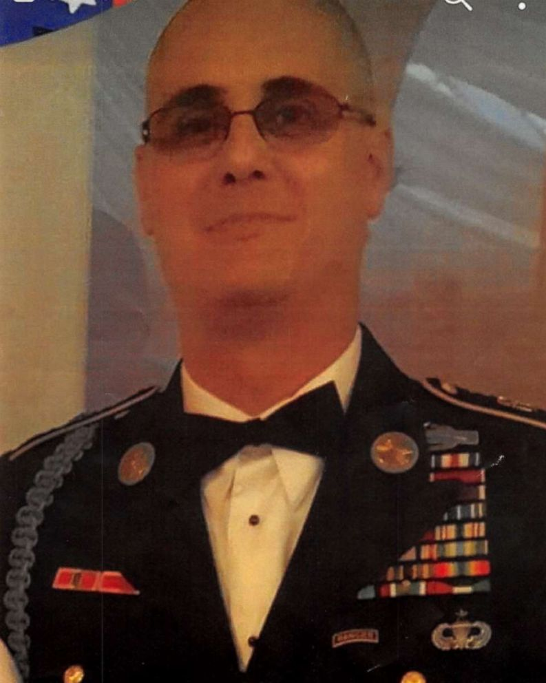 PHOTO: Edward Louis Liroff, 46, has been arrested after allegedly posing as a U.S. military veteran and claiming he had earned at least 21 medals and badges.
