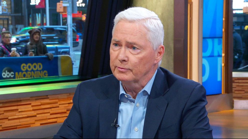 """Dick's Sporting Goods Inc., Chairman and CEO Edward Stack speaks out on """"Good Morning America,"""" Feb. 28, 2018."""
