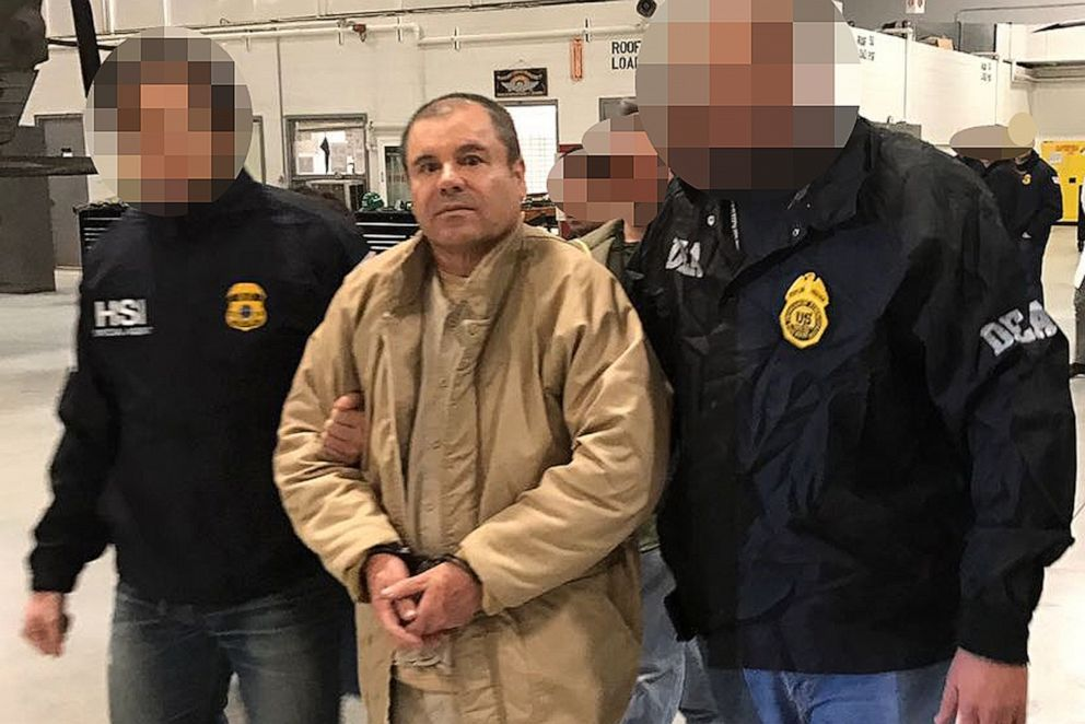 IMG EL CHAPO, Sentenced to Life in Prison