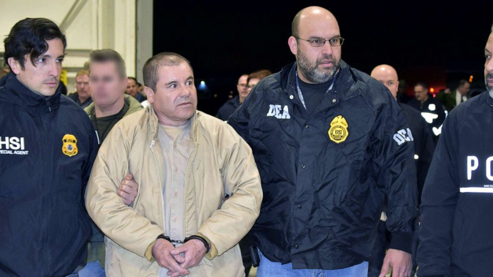 Joaquin 'El Chapo' Guzman to be sentenced for running drug cartel thumbnail
