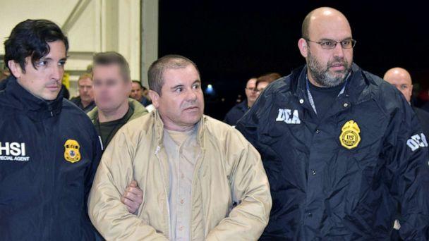 Joaquin 'El Chapo' Guzman sentenced to life in US prison