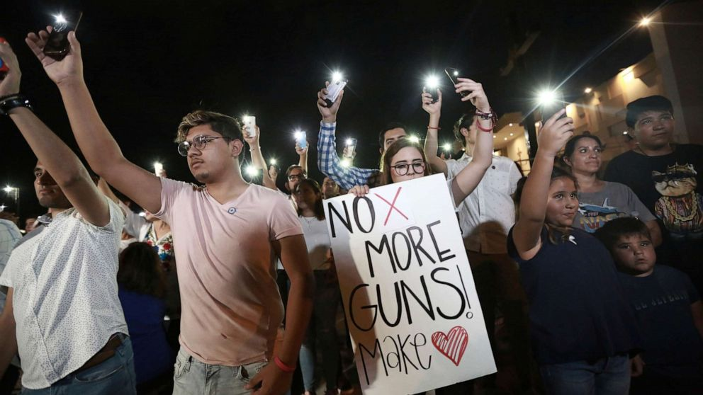 A look at gun laws in Texas and Ohio, where 2 deadly mass