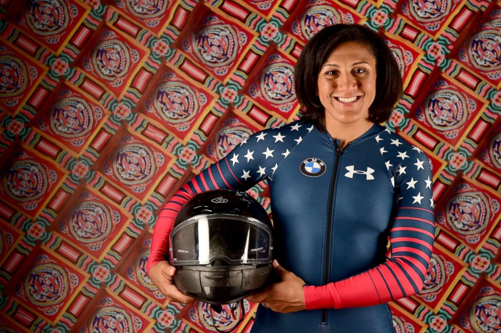 PHOTO: Bobsledder Elana Myers Taylor.