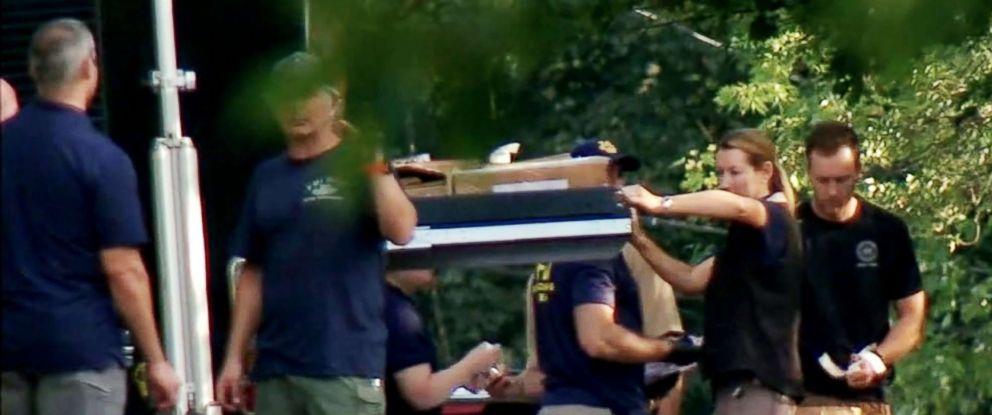 PHOTO: Investigators examine a scene in Rockland County, New York.