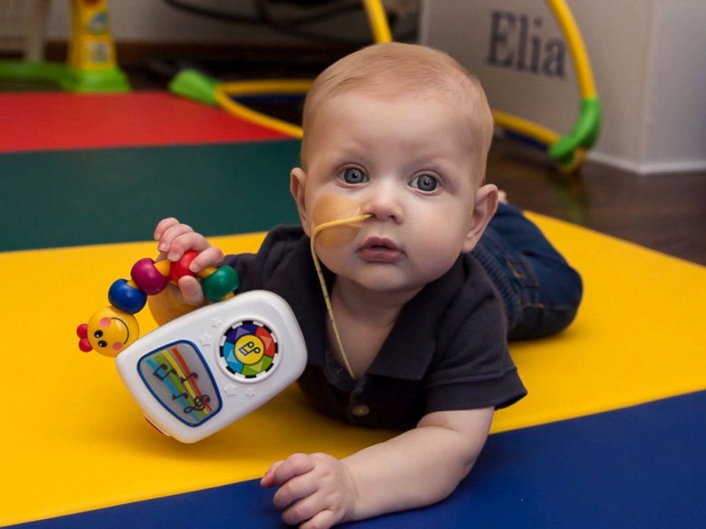 PHOTO: The family of 7-month-old Elias, who suffers from a rare immune disorder, is searching desperately for a bone marrow donor.