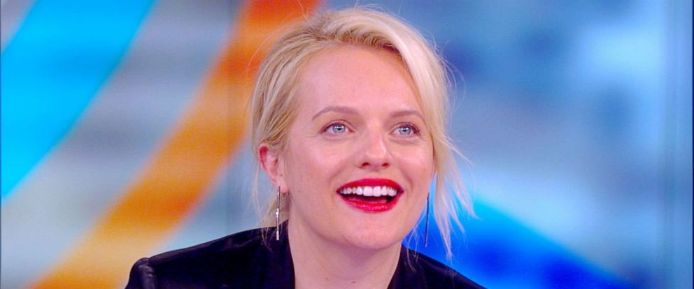 """PHOTO: Elisabeth Moss appears on """"The View,"""" June 5, 2019"""