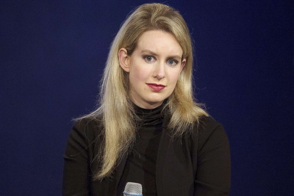 PHOTO: Elizabeth Holmes, CEO of Theranos, attends a panel discussion during the Clinton Global Initiatives annual meeting in New York in this Sept. 29, 2015 file photo.