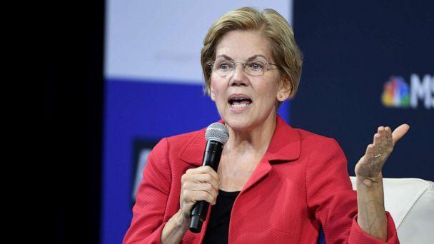 2020 candidate Sen. Elizabeth Warren uses false ads to lash out at Facebook CEO