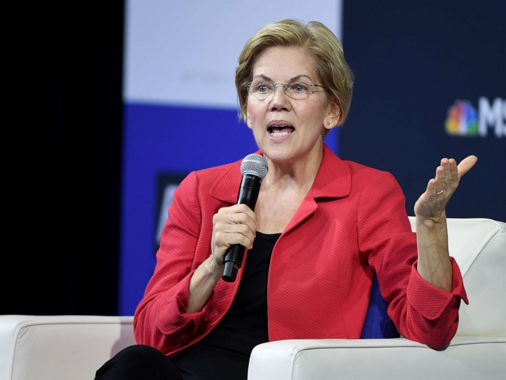 Warren mocks Facebook rules with false ad claiming Zuckerberg endorsed Trump