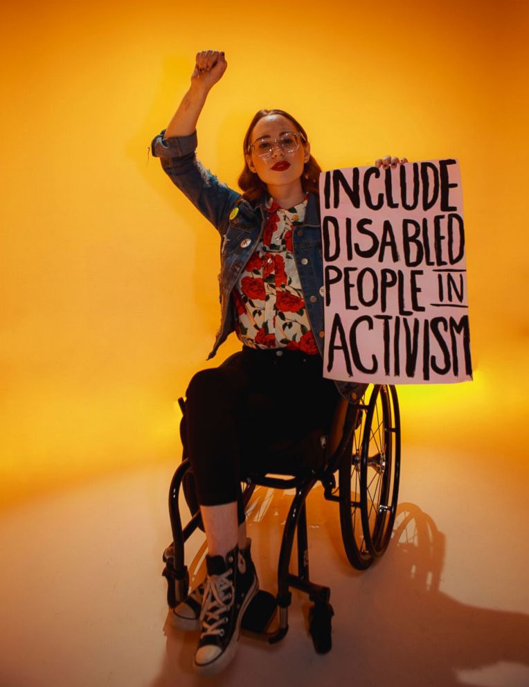 PHOTO: The 17-year-old behind @elliewheels, Ellie uses her Instagram account to bring visibility to disability rights, womens rights, and LGBTQ rights.