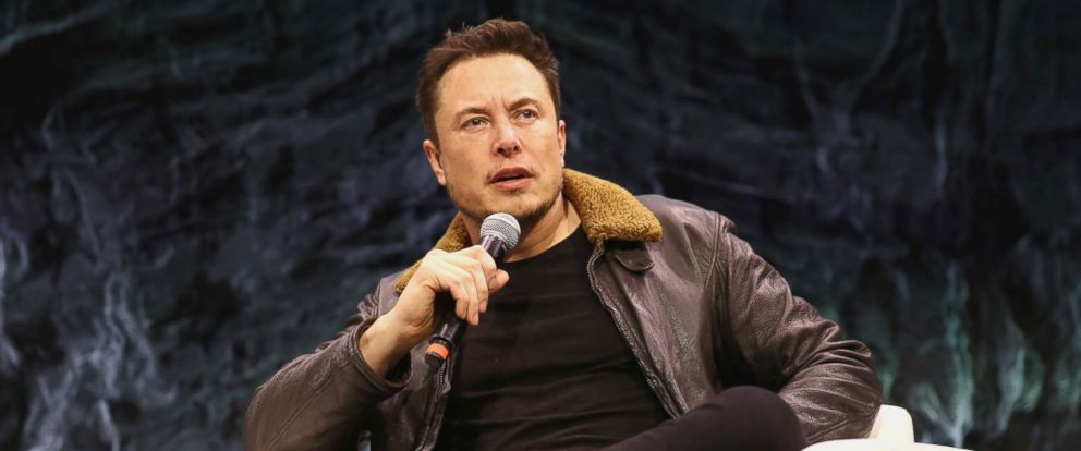 PHOTO: Elon Musk speaks onstage at Elon Musk Answers Your Questions! during SXSW at ACL Live on March 11, 2018 in Austin, Texas.