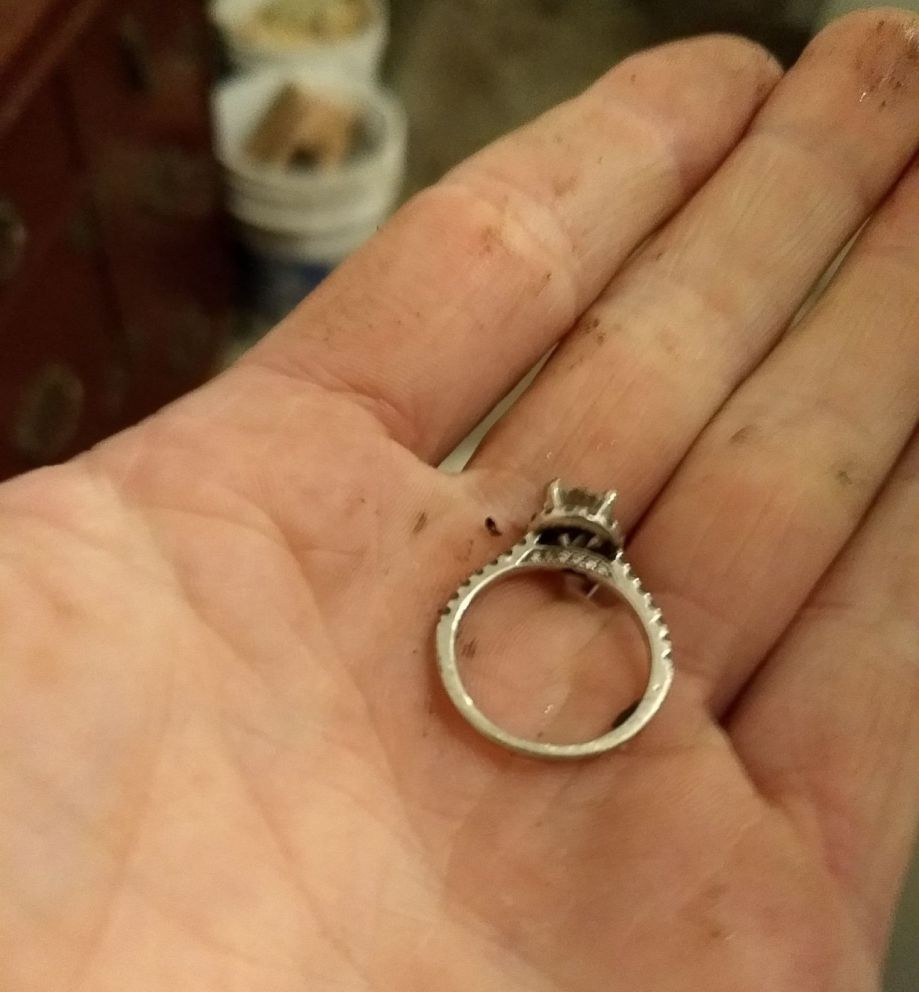 PHOTO: Haleigh Morrissey accidently flushed her engagement ring down the toilet on Feb. 2, leading to a search that took over 40 hours.