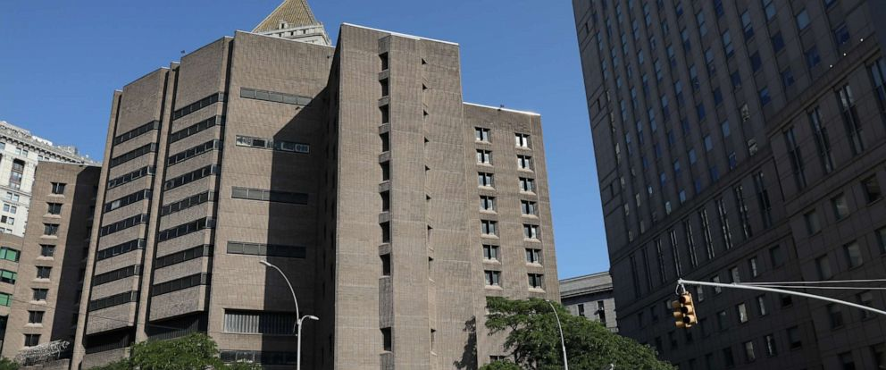 PHOTO: An exterior view of the Metropolitan Correctional Center jail where financier Jeffrey Epstein, who was found unconscious with injuries in the Manhattan borough of New York City, New York, July 25, 2019.