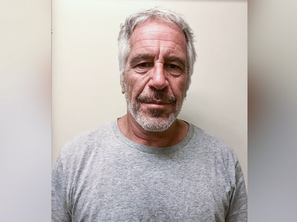 PHOTO: An undated handout photo made available by New York State Division of Criminal Justice showing Jeffrey Epstein, issued 25 July 2019.