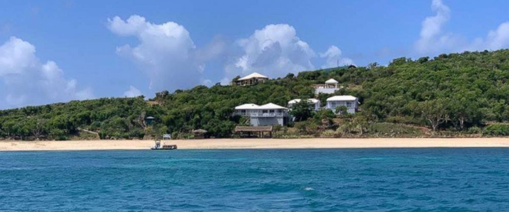 "PHOTO: Jeffrey Epsteins private island, dubbed ""Little St. James,"" is located off the coast of St. Thomas in the U.S. Virgin Islands."